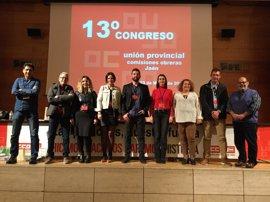 Francisco Cantero, nuevo secretario general de CCOO en Jaén