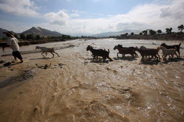 Lluvias torrenciales en Perú