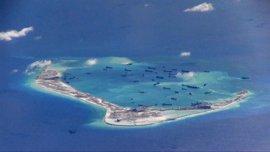 """China asegura que su intención no es la """"militarización"""" del mar de China Meridional"""