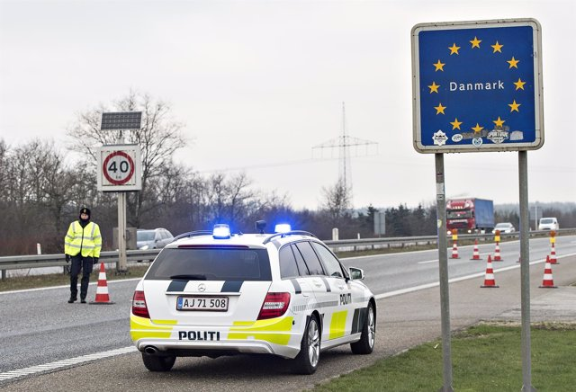 Controles fronterizos en Dinamarca