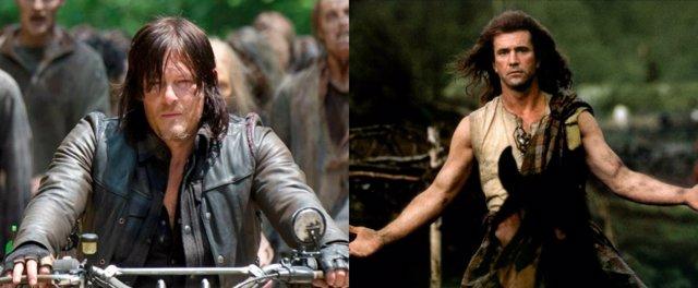 The Walking Dead y Braveheart
