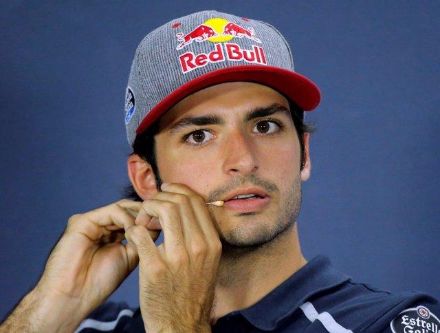 El piloto español de F1 Carlos Sainz