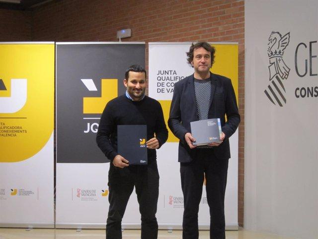Vicent Marzà y Rubén Trenzano (archivo)