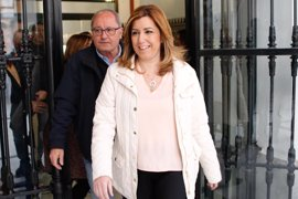 González, Zapatero, Guerra y Rubalcaba arroparán a Susana Díaz en su presentación como candidata