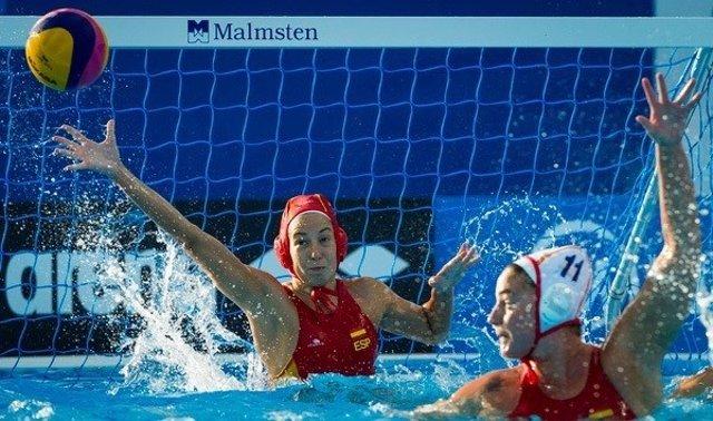 Laura Ester waterpolo selección femenina Mundial Kazán