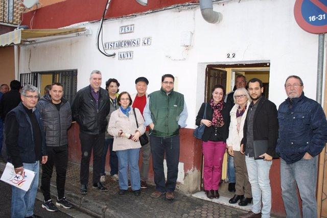 Reunión González Rojas con vecinos Valdezorras