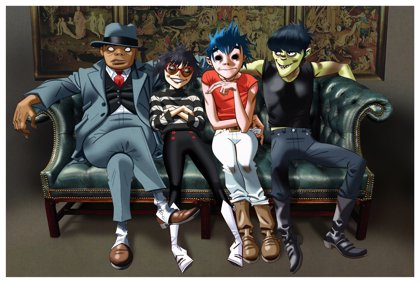 Gorillaz estrenan cuatro videoclips para cuatro canciones de su nuevo disco