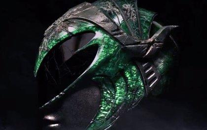Power Rangers prepara la llegada del Ranger verde con la primera imagen de su casco