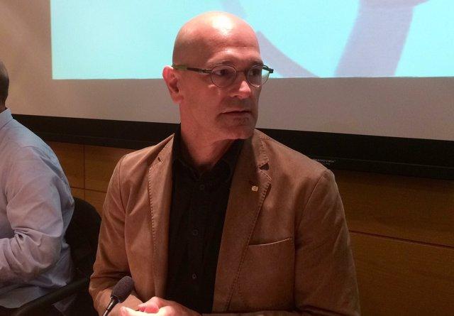 Raül Romeva, conseller de la Generalitat