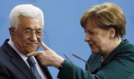 Merkel reafirma su apoyo a la solución de dos estados en el conflicto en Oriente Próximo