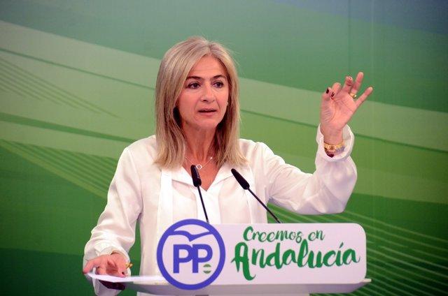 Nota, Foto Y Audio Rueda De Prensa Patricia Del Pozo En Sevilla