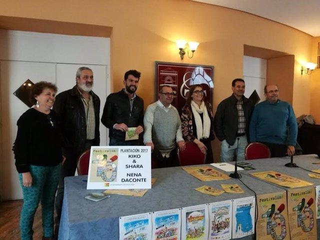 Presentación del Festivalino de Pescueza (Cáceres)