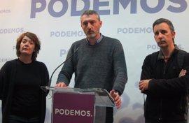 """Podemos apoyará moción de censura de PSOE y pide a Cs que demuestre """"de qué pasta está hecha"""""""