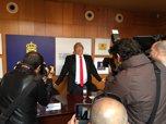 Javier Gurruchaga disfrazado de Donald Trump