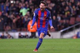 El Supremo revisará el 20 de abril la condena a Messi, tres días antes del clásico Madrid-Barça