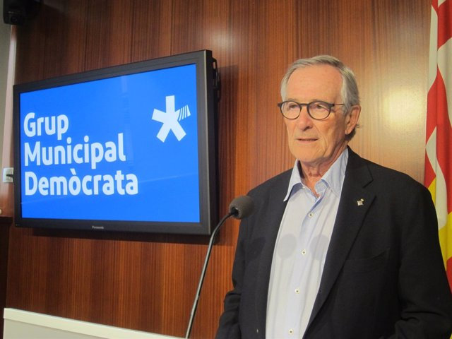 El presidente del grupo Demòcrata y exalcalde, Xavier Trias