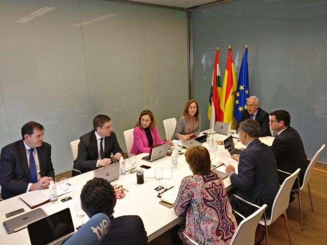 Reunión Consejo Gobierno en Arnedo