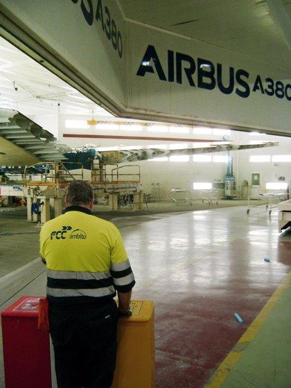 FCC se hace con la gestión ambiental de las plantas de Airbus en España por 20,2 millones