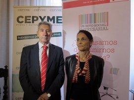 CEPYME y Cruz Roja promoverán la inserción laboral de colectivos vulnerables
