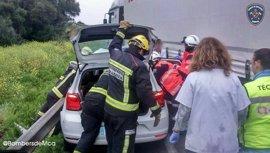 Dos fallecidos y dos heridos muy graves en un accidente de tráfico en Alcúdia