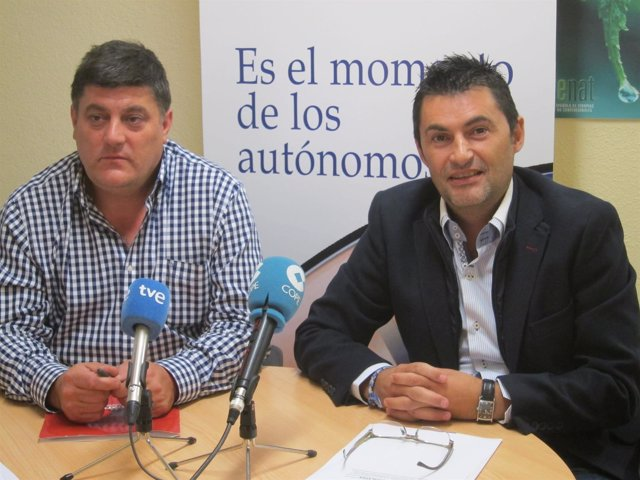 Javier Marzo (UPTA) y Eduardo Abad (UTAC-UPTA)