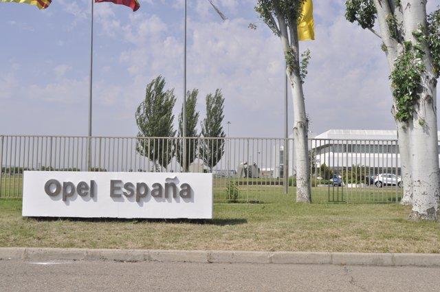 Fábrica de Opel en Figueruelas (Zaragoza)