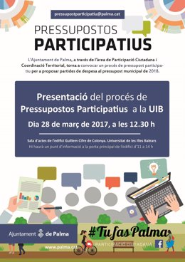 Presupuestos participativos en la UIB