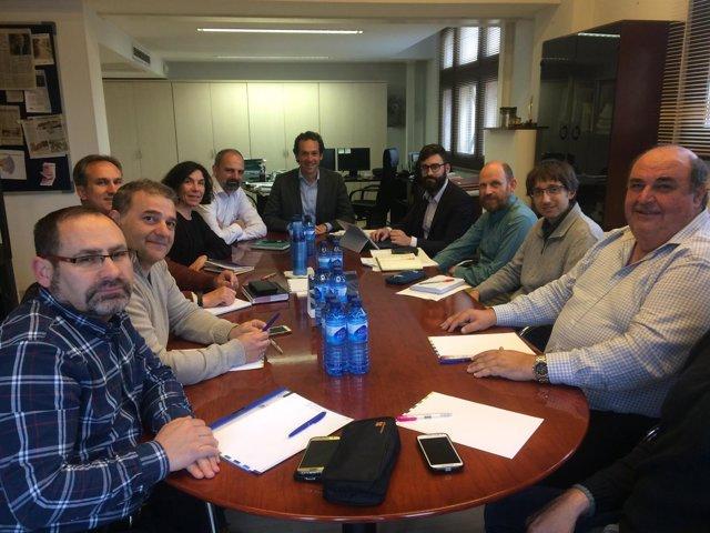 Reunión del Govern con el sector del taxi