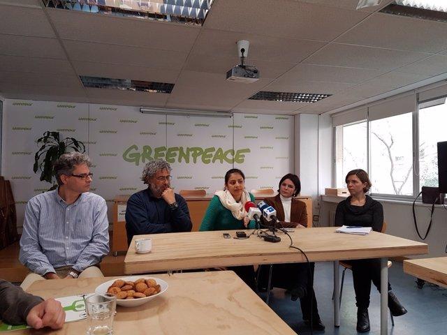 Greenpeace homenaje Berta Cáceres