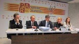 El PAR pide al PP que cumpla el pacto electoral, que contiene el respeto a la unidad de cuenca