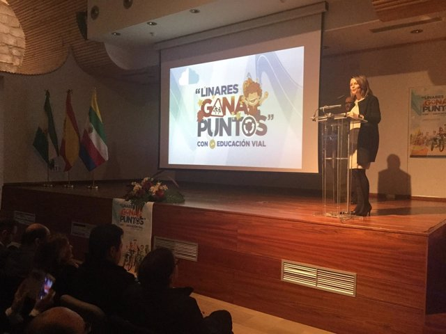 Presentación del concurso 'Gana puntos en educación vial'.