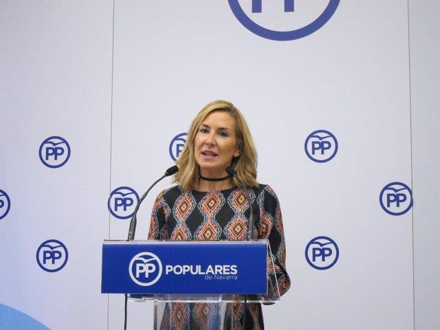 Ana Beltrán, portavoz del PPN
