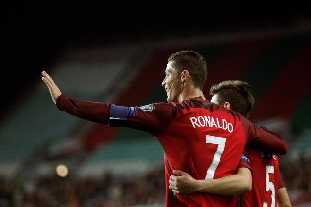 Cristiano Ronaldo, delantero de Portugal