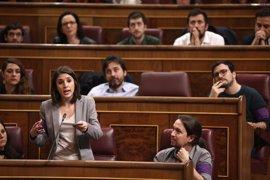 Irene Montero preguntará a Santamaría por las escuchas del Cesid a Juan Carlos I