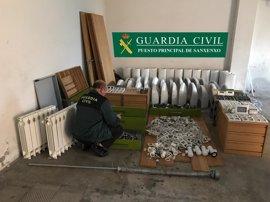 Detenido un varón como autor de robos y daños por valor de más de 400.000 euros en O Grove
