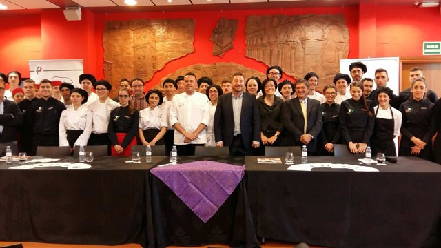 Soro ha asistido a la presentación del menú dedicado al Pastor de Andorra