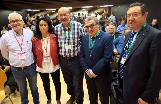 Cristina Rodríguez, Joan Carles Gallego y Àngel Ros
