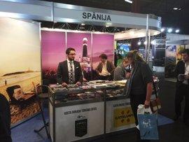 La Costa Daurada (Tarragona) se promociona en Letonia para atraer turistas de Europa del Este