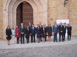 La Reina Sofía inaugura en Cáceres un ciclo de conciertos que recorrerá las ciudades Patrimonio de la Humanidad
