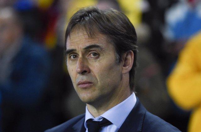 Julen Lopetegui, seleccionador nacional de fútbol
