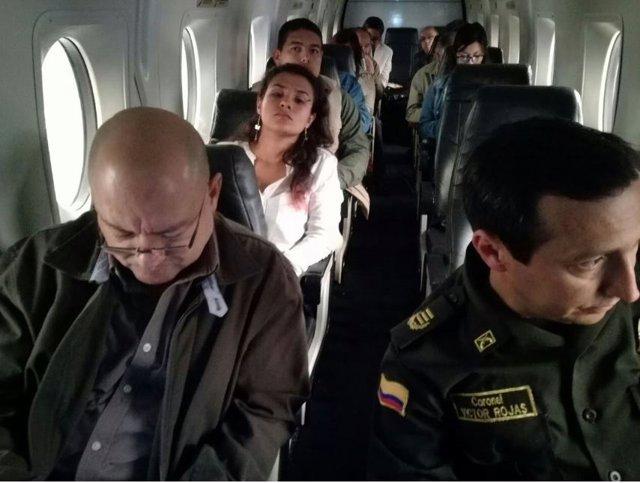 Las FARC viajan a Cartagena a reunirse con Santos