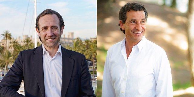 Los candidatos a la presidencia del PP de Baleares, Bauzá y Company