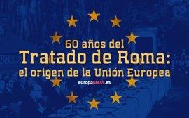 60 años del Tratado de Roma: el origen de la Unión Europea
