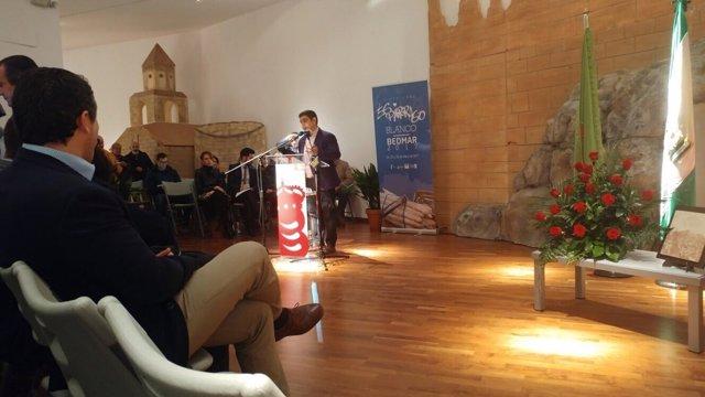 El presidente de la Diputación de Jaén da el pregón de la Fiesta del Espárrago