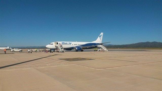 El aeropuerto de Castellón en una imagen de archivo