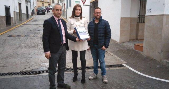 Diputación acomete la remodelación de la calle Rafael de Lara de Monturque
