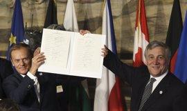 """La UE celebra sus 60 años decidida a """"actuar juntos, a distintos ritmos y distinta intensidad"""""""