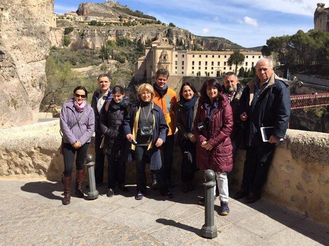 Visita periodistas franceses