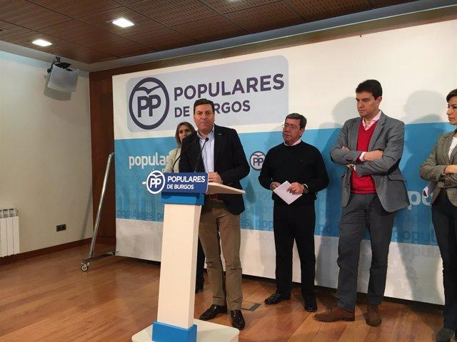 Burgos.- Carriedo, durante su intervención en Burgos