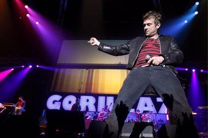 Gorillaz vuelve a los escenarios siete años después, en un concierto secreto en Londres